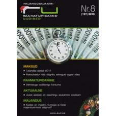 RaamatupidamisUudised nr 8 (127) 2010