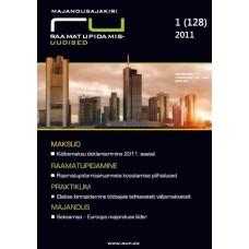 RaamatupidamisUudised nr 1 (128) 2011