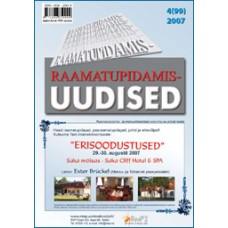 Raamatupidamisuudised nr 4 (99) 2007