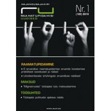RaamatupidamisUudised nr 1 (120) 2010