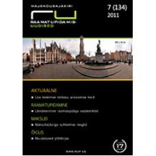 RaamatupidamisUudised nr 7 (134) 2011