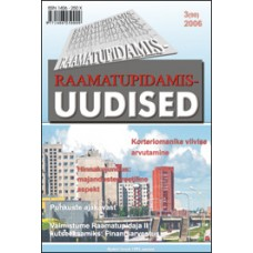 Raamatupidamisuudised nr 3, 2006