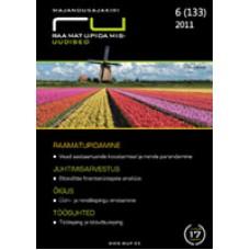 RaamatupidamisUudised nr 6 (133) 2011
