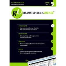 Raamatupidamisuudised nr 5 (148) 2013