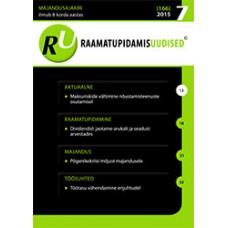 Raamatupidamisuudised nr 7 (166) 2015