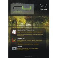 Raamatupidamisuudised nr 7 (110) 2008