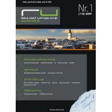 Raamatupidamisuudised nr 1 (112) 2009
