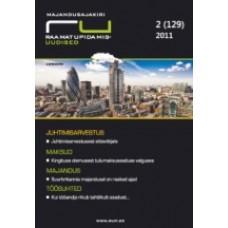 RaamatupidamisUudised nr 2 (129) 2011