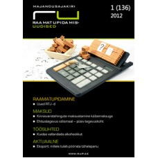 Raamatupidamisuudised nr 1 (136) 2012