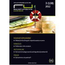 RaamatupidamisUudised nr 3 (138) 2012