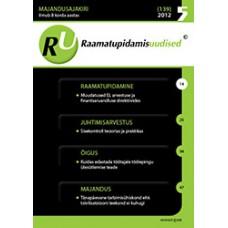 RaamatupidamisUudised nr 5 (140) 2012