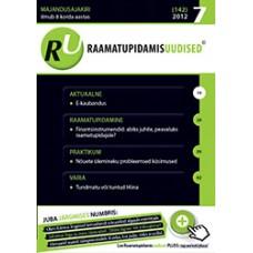 RaamatupidamisUudised nr 7 (142) 2012