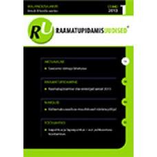 Raamatupidamisuudised nr 1 (144) 2013