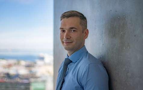 Pildil LHV panga juhatuse liige Madis Toomsalu