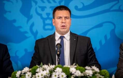 Pildil peaminister Jüri Ratas