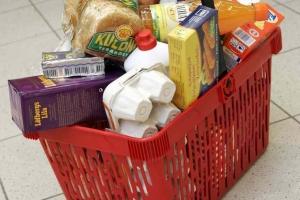 Стоимость минимальной продуктовой корзины домохозяйства, состоящего из одного человека в течение одного месяца составила 91,5 евро